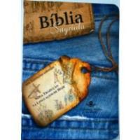 BÍBLIA JEANS ILUSTRADA ZÍPER -NTLH054PZ