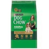Ração Nestlé Purina Dog Chow Para Cães De Raças Pequenas Sabor Carne E Arroz 15kg