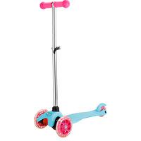 Patinete Skateled Infantil Brink+ 3 Rodas com Luz de Led Rosa e Azul
