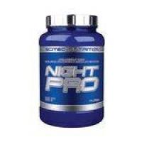 Night Pro Scitec 900g - Morango