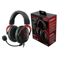 Headset Gamer HyperX Khx-hscp-rd Cloud Ii Kingston Preto e Vermelho (cópia de)