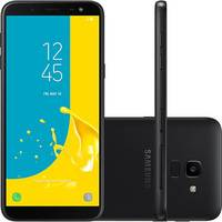 Smartphone Samsung Galaxy J6 SM-J600GT/3DL Desbloqueado GSM 64GB TV Digital Dual Chip Android 8.0 Preto