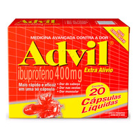 Advil 400mg 20 cápsulas