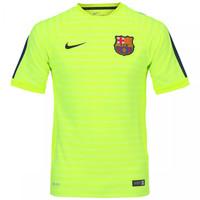 Camisa Nike de Treino Barcelona 2014-2015 Verde Claro  22327d2d52f76
