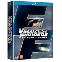 Box Velozes e Furiosos 7 DVDs - Multi-Região / Reg.4