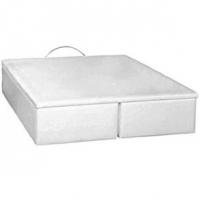 Cama Box Casal Queen Size Ortobom Americana Bau Cori Bianco 1580X1980X0390