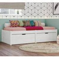 Cama Solteiro 90cmx1,90m Beauty Interlink Branco