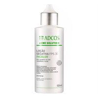 Acne Solution Adcos Loção Secativa FPS 30 Incolor 50ml