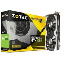 Placa de Vídeo Zotac GeForce GTX 1060 AMP! Edition 6GB GDDR5 PCI-Express 3.0 ZT-P10600B-10M