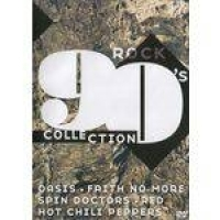 DVD 90s Collection Rock - Oasis - Red Hot Chili Peppers