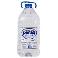 Água Mineral sem Gás Prata Garrafa 5 Litros