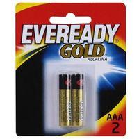 Pilha Alcalina Eveready Gold AAA 1.5V A92BP2 Cartela 2 Unidades