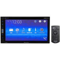 Central Multimídia Pioneer AVH-A318BT LCD 6,8 Touch USB