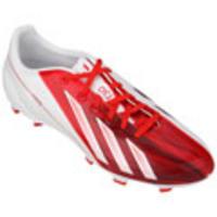 Chuteira de Campo Adidas F30 TRX FG Messi Masculina Vermelha e Branca 8d847ede62606