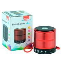 Caixa de Som Bluetooth Madake WS887 Vermelho