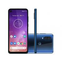 Smartphone Motorola One Vision XT1970-1 Desbloqueado 128GB Android 9.0 Azul Safira