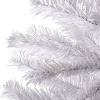 Árvore de Natal Christmas Traditions Pela Metade Branca 1.8m