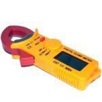 Alicate Amperimetro Digital Icel Mini Multimetro 20a 200a Com Data Hold Profissional