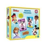 Jogo Monta Figuras Estrela  Disney Junior Estrela