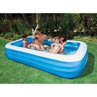 Piscina Inflável Intex Familiar 1000 Litros Retangular #58484