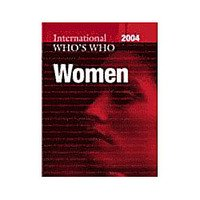 The International Whos Who Of Women 2004