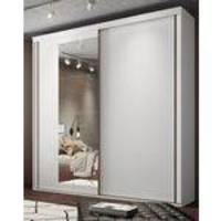 Guarda Roupa Inovatto 2 Portas Branco/Esp 2070 Mm - Belmax Móveis