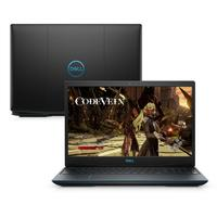 Notebook Gamer Dell G3-3590-M10P 9ª Geração Intel Core i5-9300HQ 8GB 1TB FHD 15.6 Windows 10 Preto