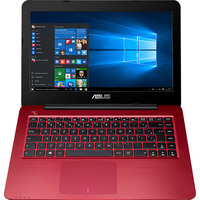 Notebook Asus Z450LA WX010T Core i3 4005U 4GB 1TB Windows 10 Vermelho + Microsoft Office 365 Personal Download