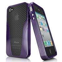 Case Iskin Solo Vu Velvet Purple - Iphone 4