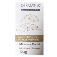 Máscara Facial Dermatus Oleosidades E Poros Visíveis 120g