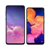 Smartphone Samsung Galaxy S10e SM-G970F/1DL Desbloqueado 128GB Dual Chip Android 9.0 Preto + Smartphone Samsung Galaxy A10 32GB Preto