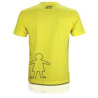Camiseta Criança Esperança Abraço Menino M Globo Marcas Unissex Amarela