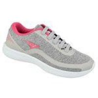 Tênis Bouts Style Comfort Cinza/rosa Feminino