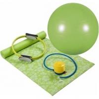 Kit Para Pilates Mor Verde