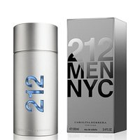 Perfume 212 NYC Men Masculino Carolina Herrera EDT 200ml - Masculino