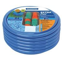 Mangueira Tramontina Extra Flex de 1/2'' Engates Rápidos e Esguicho Azul 30m