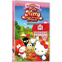 Hello Kitty e Friends Vol. 2 - Multi-Região / Reg.4