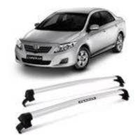 Rack Teto Eqmax New Wave Corolla 2009 a 2013 Prata