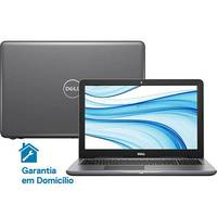 Notebook Dell Inspiron i15-5567-D30C Intel Core i5-7200U 8GB 2GB 1TB Led 15.6 Linux Cinza