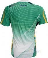 Camisa Oficial Asics Seleção Brasileira de Handebol Verde  1cc51108f01e5