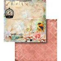 Papel Scrapbook Dupla Face Dream E Gaiola Lscd-366 - Litocart