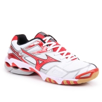 Tênis Training Masculino Mizuno 4130082 Wave Bolt 3 Branco e Vermelho  Tamanho 48 cb7d102e6ec8f