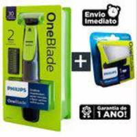 Aparador Philips One Blade QP2510/10 + Refil Philips One Blade QP210/50
