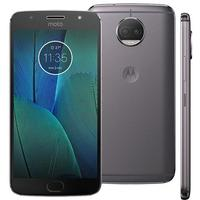 Smartphone Motorola Moto G5S Plus XT1802 Desbloqueado GSM 32GB Dual Chip TV Digital Android 7.1 Platinum