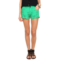 Short Botswana Bordado Casual Feminino