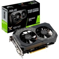Placa de Vídeo Asus GeForce GTX 1660 TI OC Edition 6GB TUF-GTX1660TI-O6G-GAMING