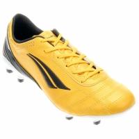 Chuteira Penalty Brasil 70 Pro Elite 4 Campo Masculina Amarela e Preta 4d7dbc4a39577