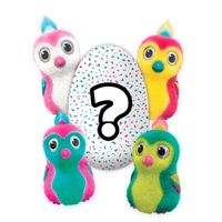 Ovo De Pinguim Hatchimals Surpresa Colorido Multikids Diversos