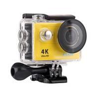 Câmera Digital Esportiva Eken H9R 4k HD DV Ultra HD Wi-Fi Amarela