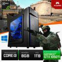 Computador CPU Gamer Core i3 1000GB HDD/8GB RAM GTX 1050 Ti 4GB 128 Bits YessTech Power